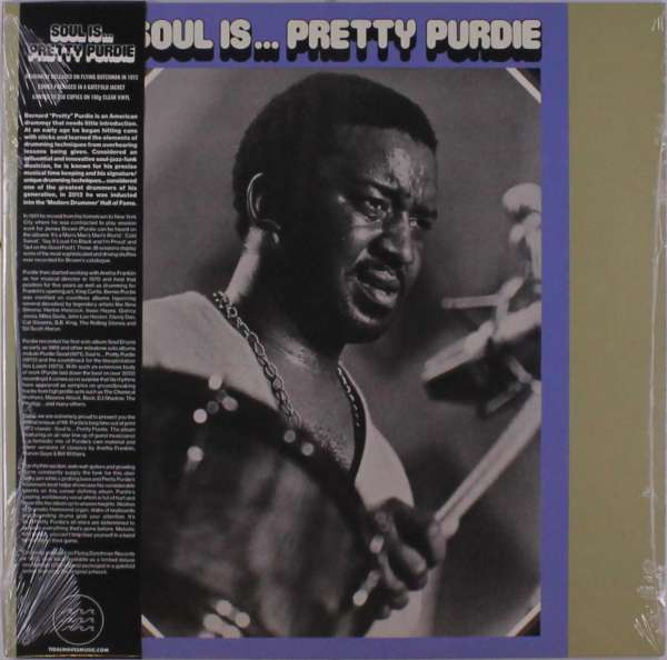 Soul Is... Pretty Purdie - Bernard Purdie - Musik -  - 0752505992532 - April 16, 2021