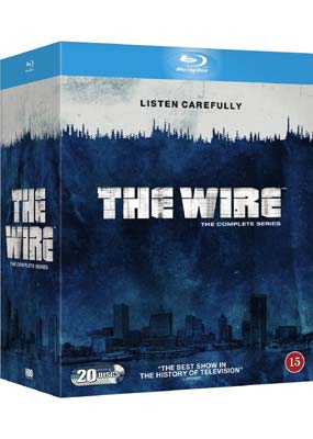 The Wire: Complete Series - The Wire - Film -  - 5051895394533 - 1/6-2015