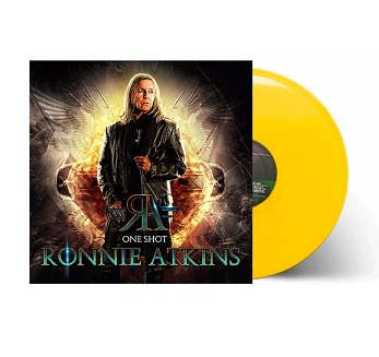 One Shot (Limited Yellow Vinyl) - Ronnie Atkins - Musik -  - 8024391109533 - 12/3-2021