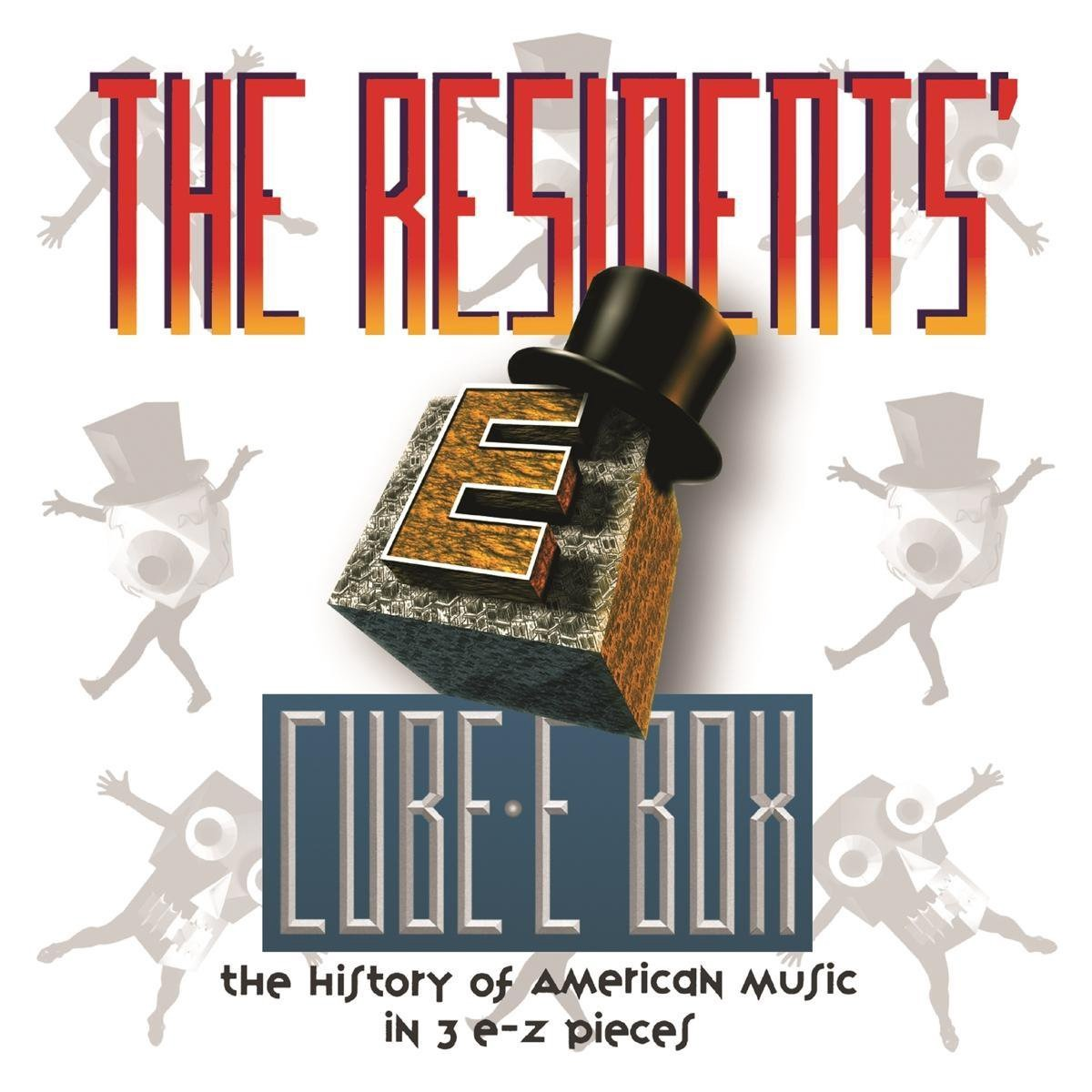 Cube-e Box: History of American Music in 3 E-z Pieces Preserved - Residents - Musik - CHERRY RED - 5013929361539 - October 23, 2020