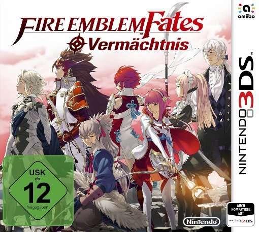 Fire Emblem Fates,Verm.,N3DS.2233240 -  - Bøger -  - 0045496472542 - 20/5-2016