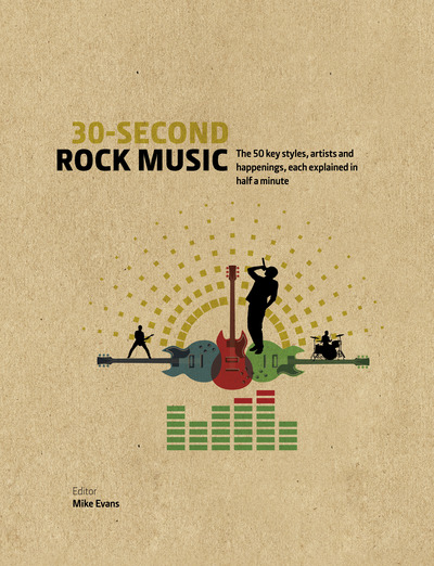 30-Second Rock Music: The 50 key styles, artists and happenings each explained in half a minute - 30 Second - Mike Evans - Bøger - The Ivy Press - 9781782405542 - October 4, 2018