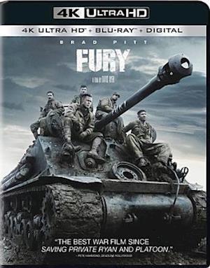Fury - Fury - Film -  - 0043396528543 - 22/5-2018