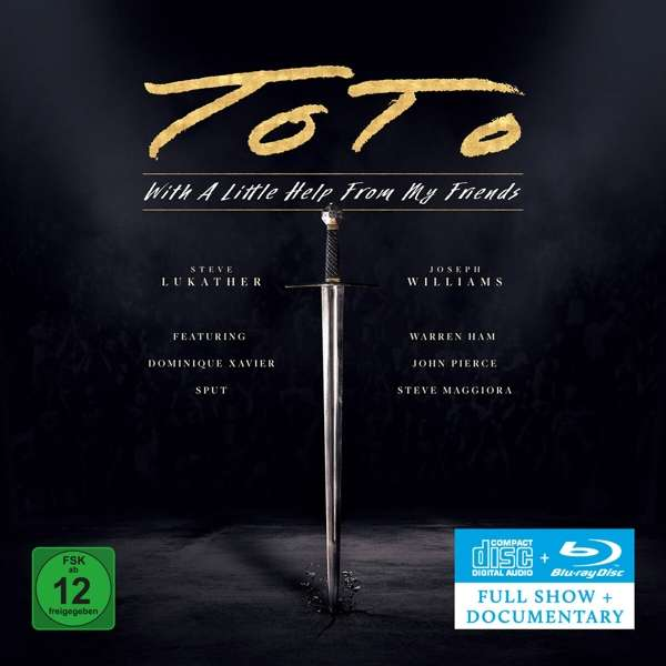 With a Little Help from My Friends - Toto - Musik - PLAYERS CLUB - 0810020504545 - June 25, 2021