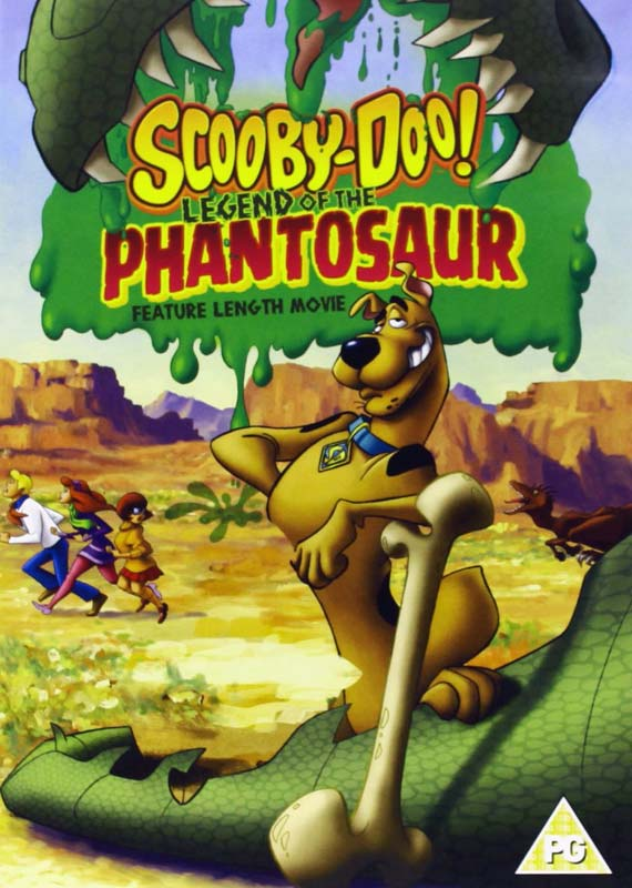 Scooby-doo - Legend of the Phantosaur - Animation - Film - WARNER HOME VIDEO - 5051892066549 - 6/5-2020