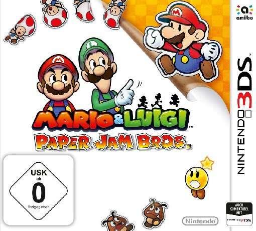 Mario & Luigi,Paper Jam.N3DS.2232040 -  - Bøger -  - 0045496529550 - 4/12-2015