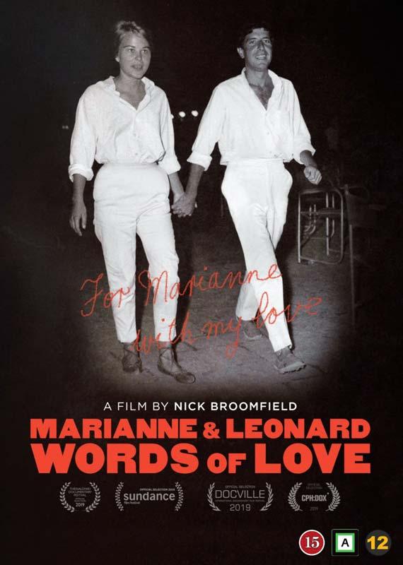 Marianne & Leonard: Words of Love - Marianne Ihlen Leonard Cohen - Film -  - 5705535064552 - 26/3-2020