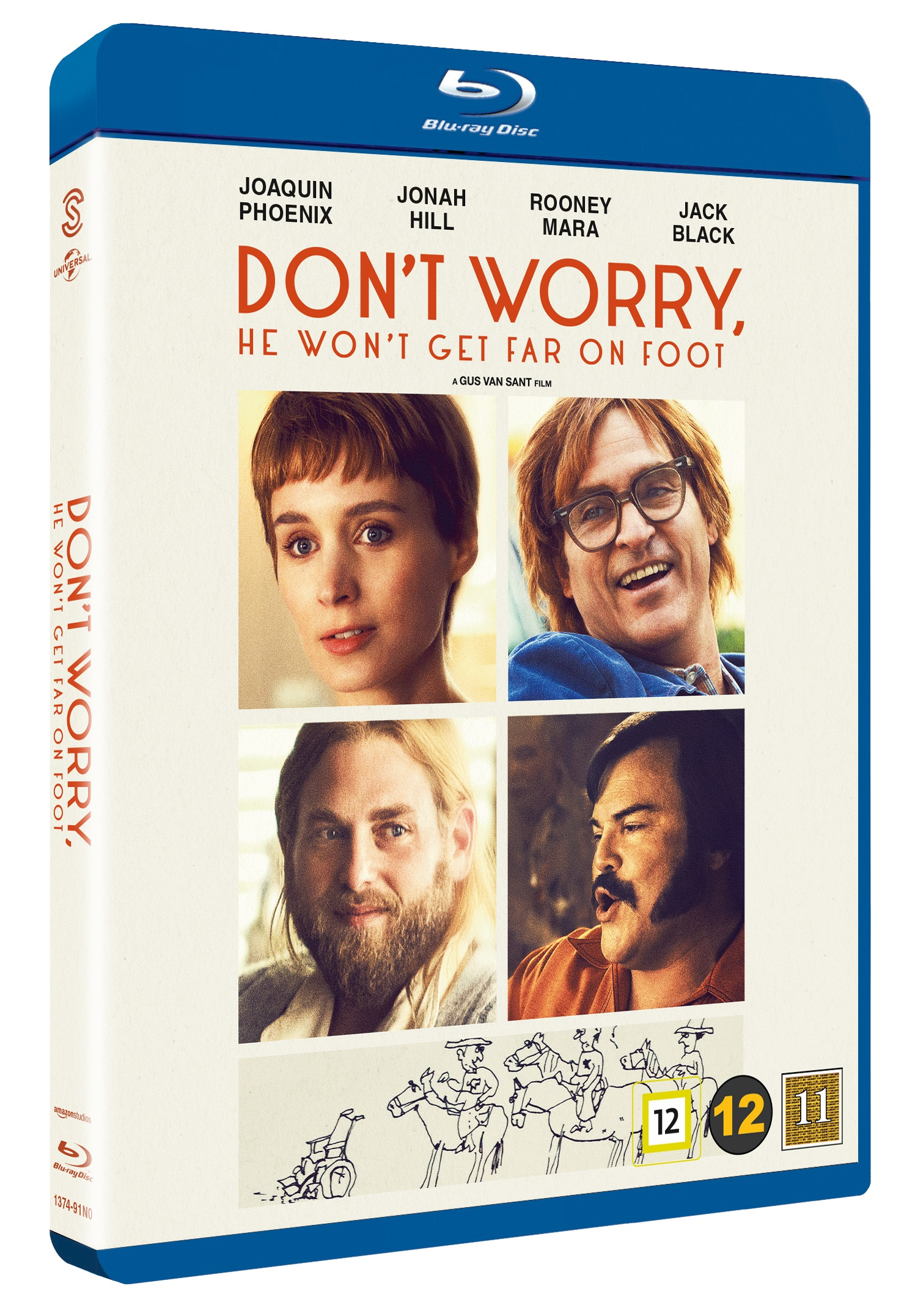 Don't Worry, He Won't Get Far on Foot -  - Film -  - 5706169001555 - December 20, 2018