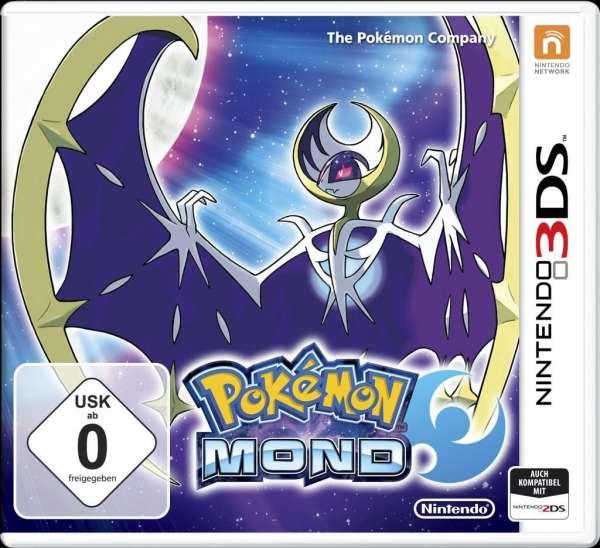 Pokémon Mond,N3DS.2234540 -  - Bøger -  - 0045496473556 -