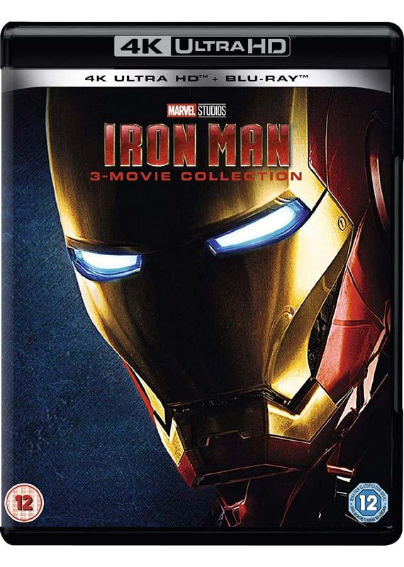 Iron Man Trilogy - Movie - Film - WALT DISNEY - 8717418552565 - 12/8-2019