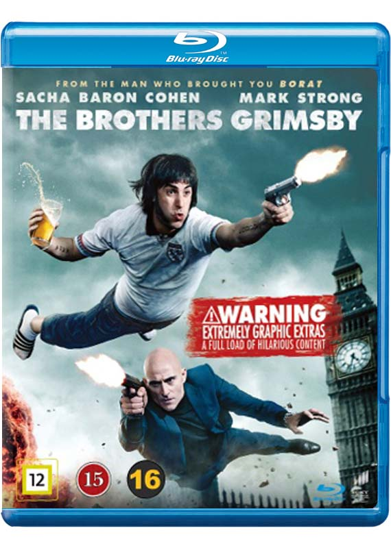 The Brothers Grimsby - Sacha Baron Cohen / Mark Strong - Film - Sony - 5051162367574 - 18/8-2016