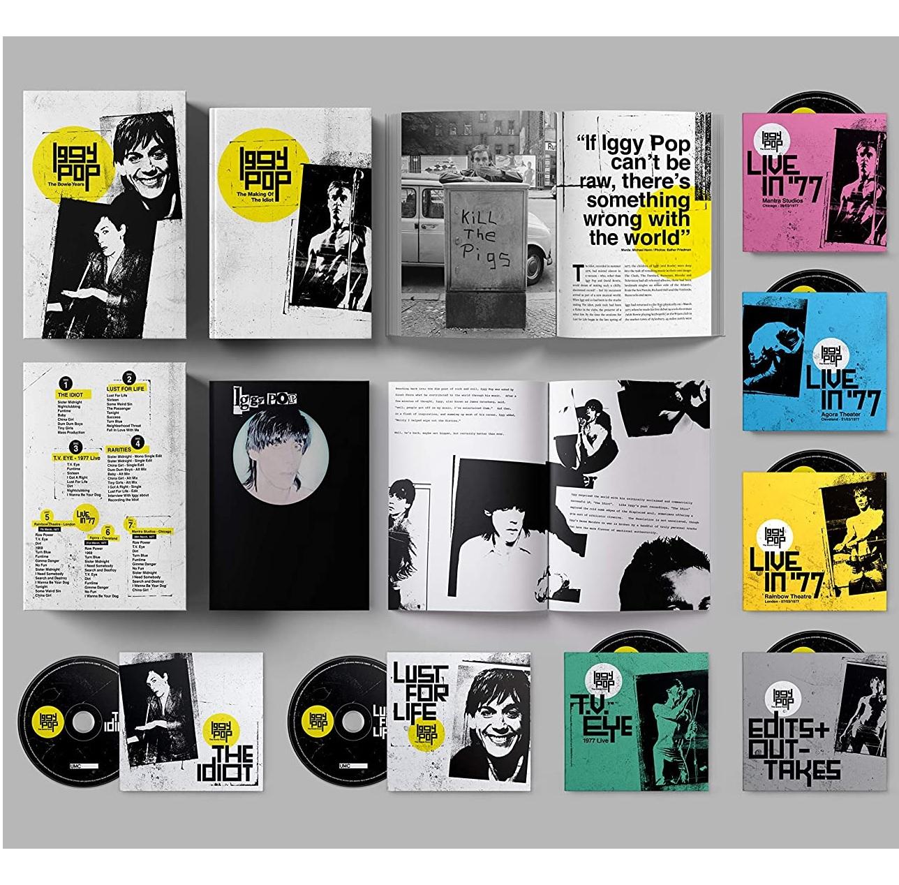 The Bowie Years - Iggy Pop - Musik - VIRGIN - 0600753865576 - 29/5-2020