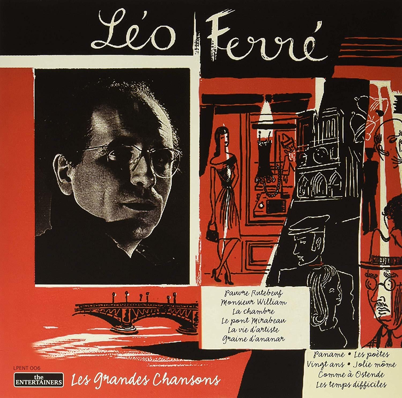 Les Grandes Chansons - Leo Ferre - Musik - ENTERTAINERS - 8004883215577 - 6/3-2020