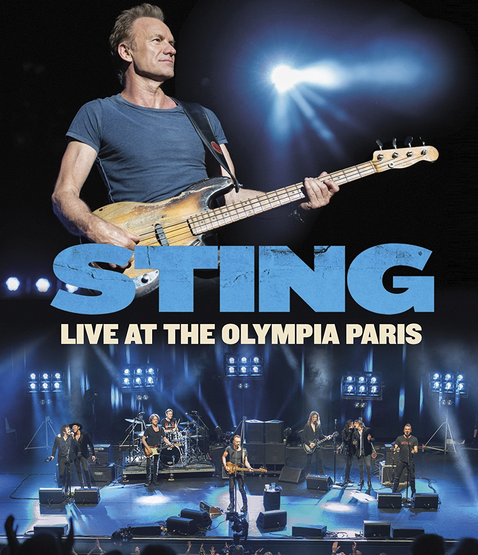 Live At The Olympia Paris - Sting - Film - EAGLE ROCK ENTERTAINMENT - 5034504130579 - November 9, 2017