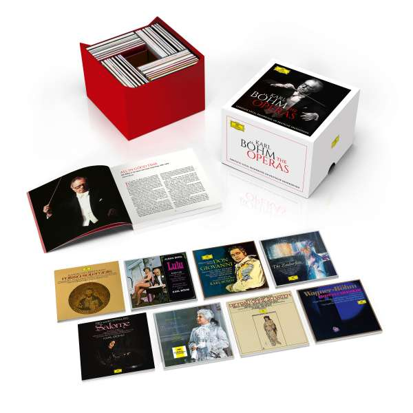 Complete Opera & Vocal Recordings - Karl Bohm - Musik - DEUTSCHE GRAMMOPHON - 0028947983583 - 26/1-2018