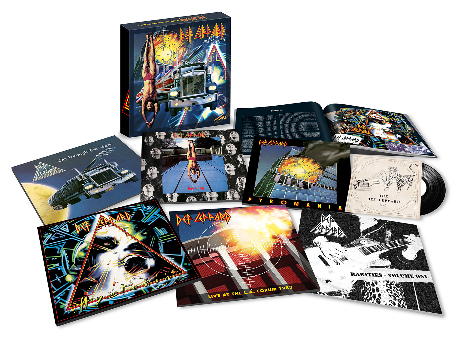 The Cd Collection: Volume One - Def Leppard - Musik - COMMERCIAL MARKETING - 0602557773583 - June 8, 2018