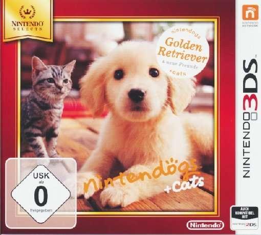 Nintendogs+Cats.Nint.3DS.2230540T2 -  - Bøger -  - 0045496528584 -