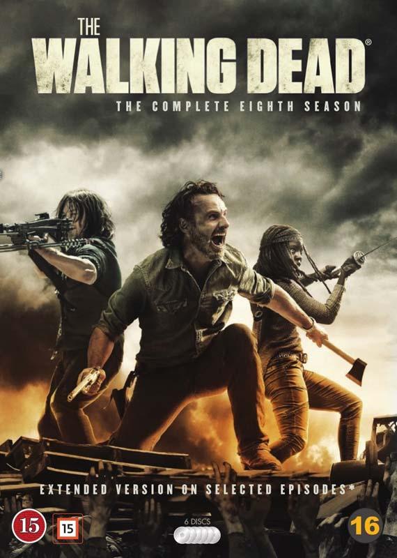 The Walking Dead - Season 8 - The Walking Dead - Film -  - 7340112745592 - 24. september 2018