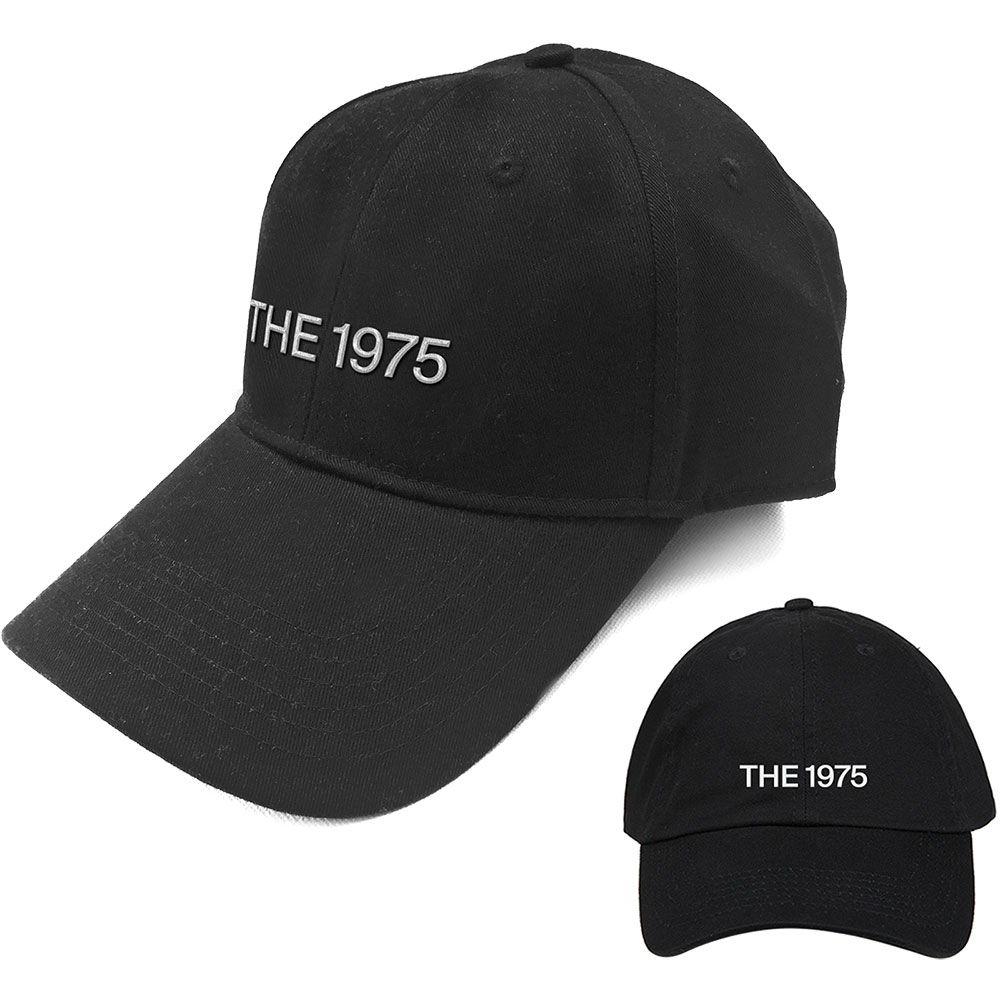 The 1975 Unisex Baseball Cap: Logo - 1975 - The - Merchandise -  - 5056170683593 -
