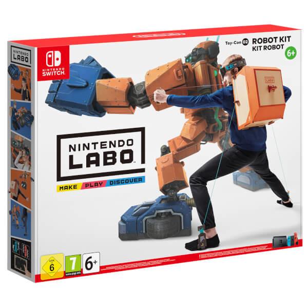 Nintendo Labo - Toy-Con 02.2522166 - Nintendo Switch - Bøger -  - 0045496421595 -