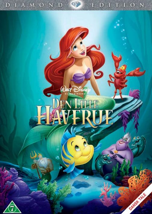 Den Lille Havfrue - Walt Disney - Film - Walt Disney - 8717418399603 - September 17, 2013