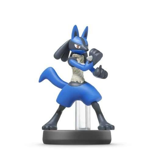 Amiibo Smash Lucario,figur.1068866 - Amiibo - Bøger -  - 0045496352608 - 23/1-2015