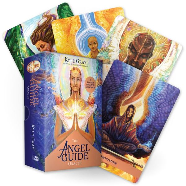 The Angel Guide Oracle: A 44-Card Deck and Guidebook - Kyle Gray - Bøger - Hay House UK Ltd - 9781788173612 - 1/9-2020
