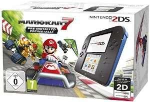 Nintendo 2DS Black+Mario Kart 7.2205032 - Nintendo 2ds | Hardware - Bøger -  - 0045496502614 -