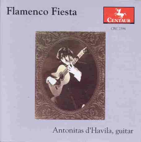 Flamenco Fiesta - Antonitas D'havila - Musik - Centaur - 0044747239620 - 2/12-1998