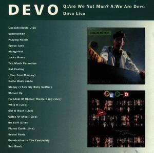 Q:are We Not Men? A:we Ar - Devo - Musik - VIRGIN - 0077778699620 - 7/5-1993