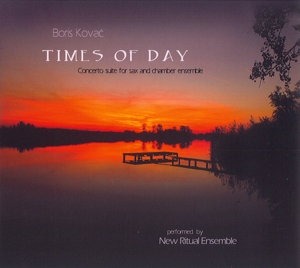 Times Of Day - Boris Kovac - Musik - RER MEGACORP - 0752725035620 - September 25, 2015