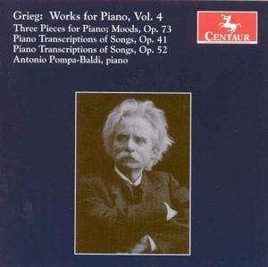 Piano Works V.4 - Antonio Pompa-baldi - Musik - CENTAUR - 0044747274621 - April 30, 2014