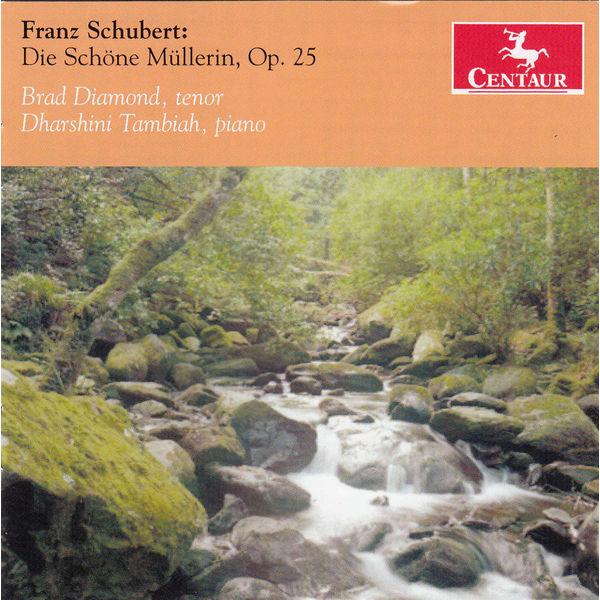 Die Schone Mullerin - F. Schubert - Musik - CENTAUR - 0044747328621 - May 21, 2014