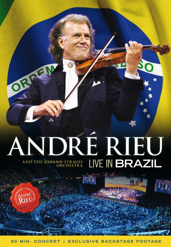Live in Brazil - André Rieu - Film - UNIVERSAL - 0602537343621 - 22. april 2013