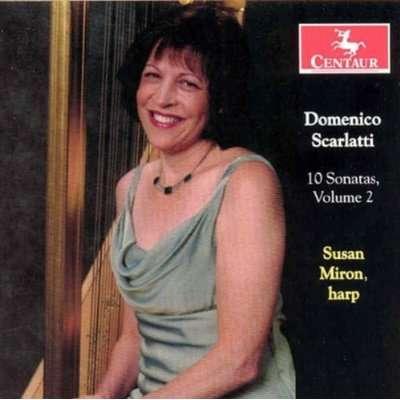 10 Sonatas V.2 - Susan Miron - Musik - CENTAUR - 0044747277622 - 30/4-2014