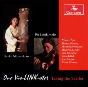 Taking the Scarlet - Liptak / Mizutani - Musik - CENTAUR - 0044747305622 - March 21, 2012