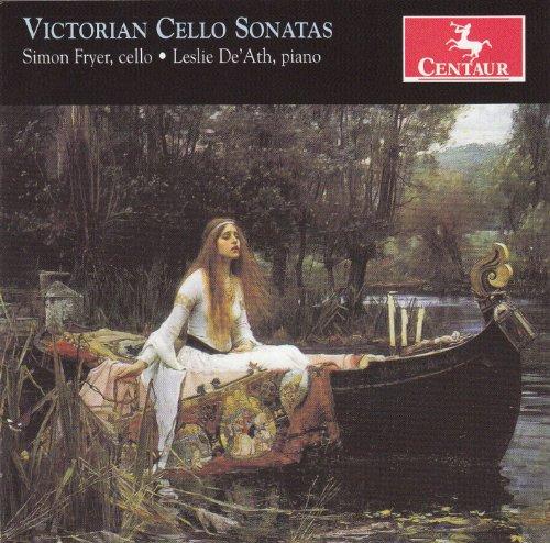 Victorian Cello Sonatas - Leslie De'ath - Musik - CENTAUR - 0044747321622 - 25/9-2012