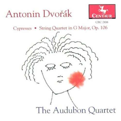 Cypresses / String Quartet - Dvorak - Musik - CENTAUR - 0044747241623 - 11/1-2000