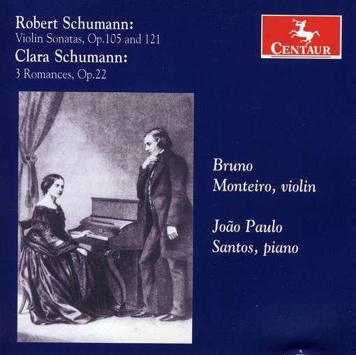 Robert & Clara Schumann - Schumann, R. & C. - Musik - CENTAUR - 0044747308623 - March 21, 2012