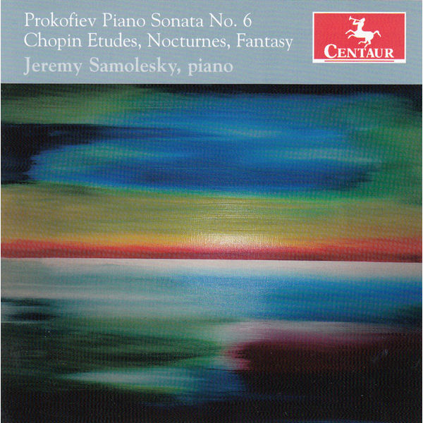 Piano Sonata No. 6 / Etudes Nocturnes Fantasy - Prokofiev / Chopin / Samolesky,jeremy - Musik - Centaur - 0044747340623 - 10/3-2015