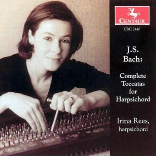 Complete Toccatas for Harpsichord - J.s. Bach - Musik - CENTAUR - 0044747244624 - 13/9-2001