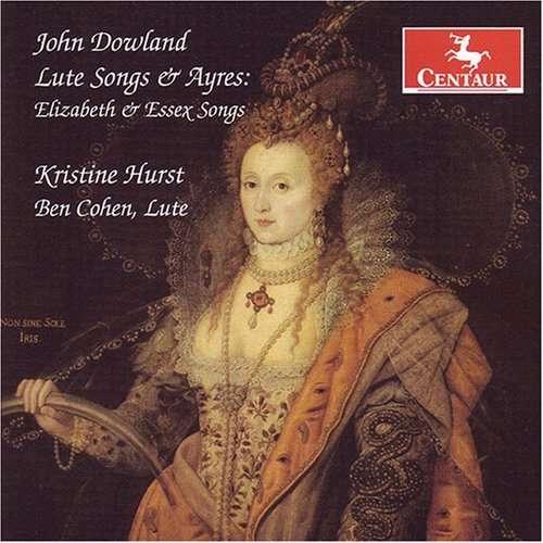 Elizabeth and Essex Son - Hurst / Cohen - Musik - CENTAUR - 0044747286624 - 21/3-2012
