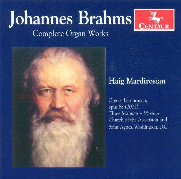 Complete Organ Works - Haig Mardirosian - Musik - CENTAUR - 0044747299624 - April 30, 2014