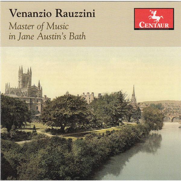 Master of Music in Jane Austen's Bath - V. Rauzzini - Musik - CENTAUR - 0044747327624 - January 21, 2014