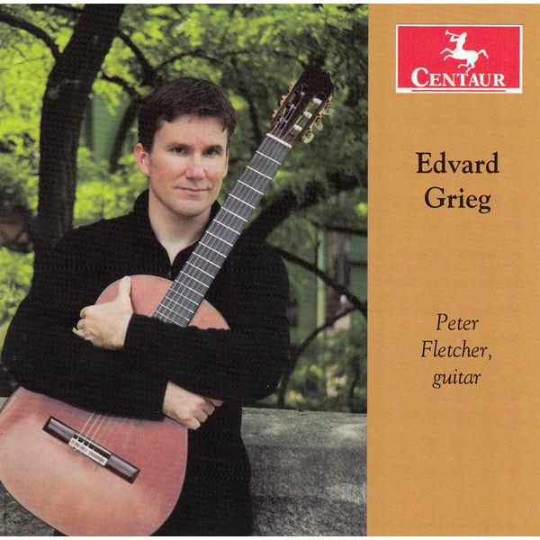 Guitar Works - E. Grieg - Musik - CENTAUR - 0044747330624 - February 18, 2014