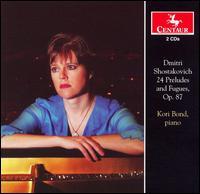 24 Preludes & Fugues Op 87 - Shostakovich / Bond - Musik - Centaur - 0044747289625 - March 25, 2008