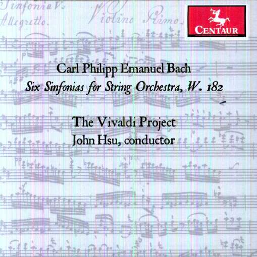 Six Sinfonias for String Orchestra W182 - Vivaldi Project - Musik - CENTAUR - 0044747317625 - 20/6-2012