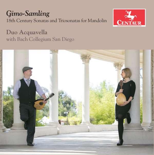 18th Century Sonatas & Trio Sonatas for Mandolin - Gimo-samling - Musik - CENTAUR - 0044747346625 - September 1, 2016