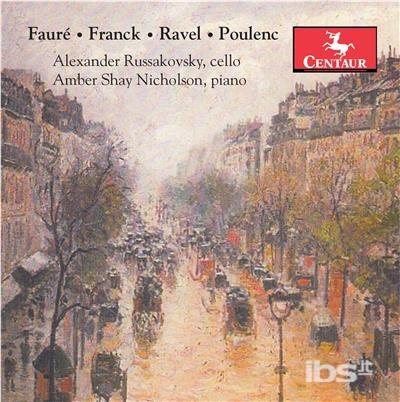 Faure / Franck / Ravel / Poulenc - Faure / Nicholson - Musik -  - 0044747359625 - 6/10-2017