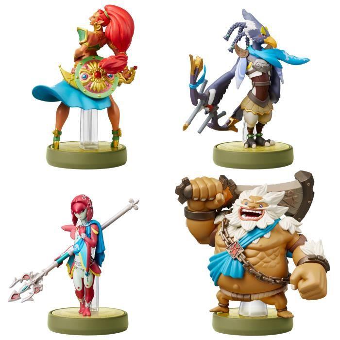 Nintendo AMIIBO The Legend Of Zelda Breath Of The Wild  Four Champions Pack Multi - Multi - Musik -  - 0045496380625 -
